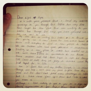 Letter From Edward